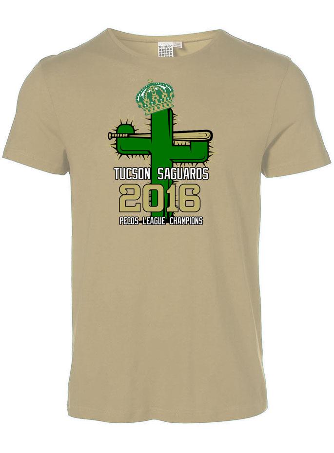 34eb8481299 (1452) Tucson Saguaros Championship Black TShirts  19.95 ..more